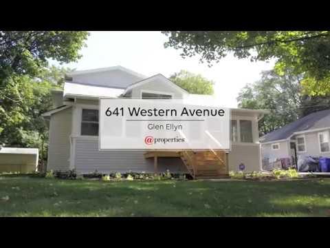 641 Western Avenue Glen Ellyn, IL 60137