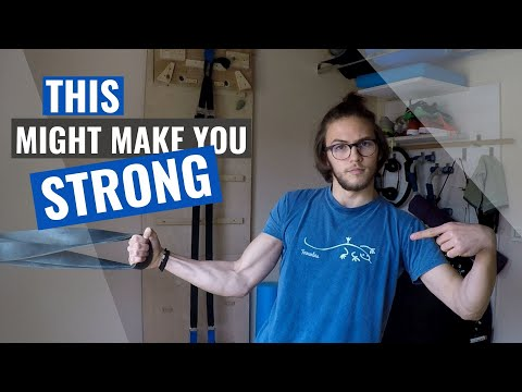 Strength and power workout for climbers / Home Workouts for Climbers: Ep. 3