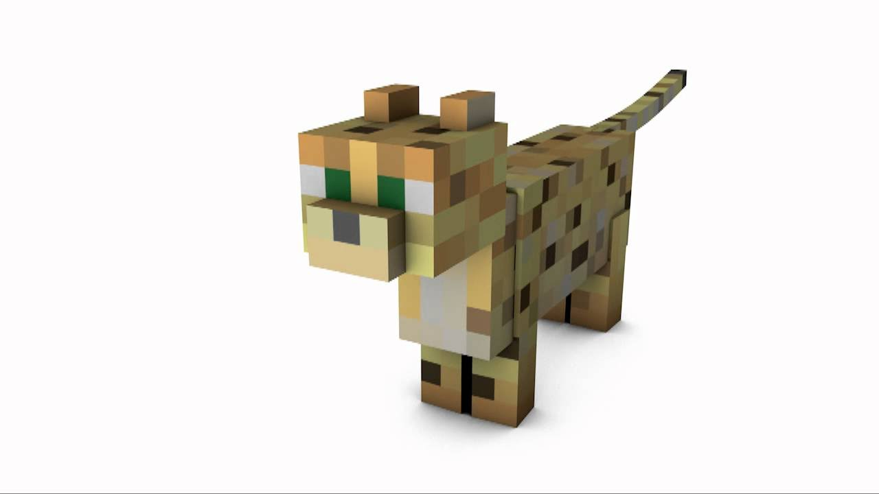 картинка кота из майнкрафта голова рюшей крючком