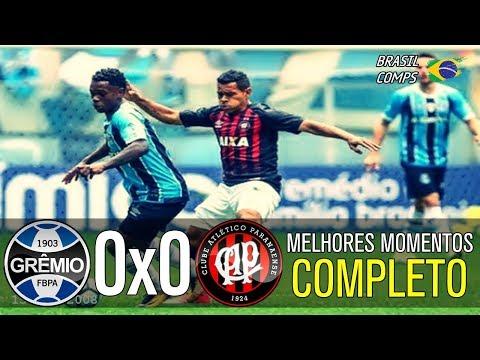 Grêmio 0 x 0 Atlético PR | Melhores Momentos | Brasileirão 20/08/2017
