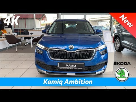 Škoda Kamiq 2020 Ambition - FIRST Quick Review In 4K | Interior - Exterior (base LED Head Lights)