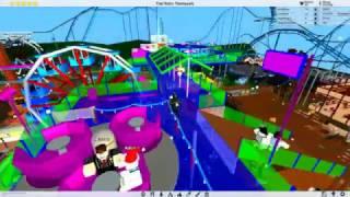 """Meu """"Roblox"""" Theme Park Tycoon 2-construir"""