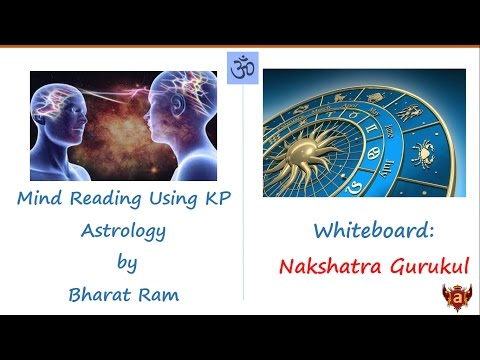 Whiteboard: Mind Reading Using KP Astrology by Bharat Ram