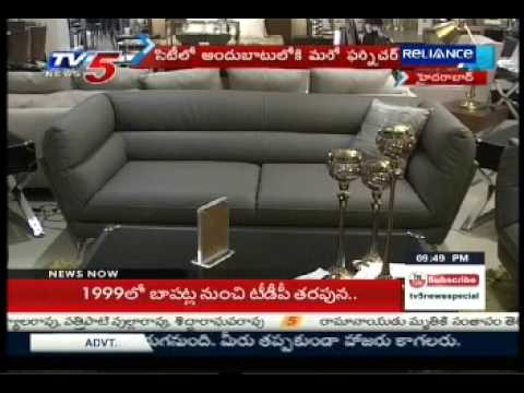 TV5- 'FURNITUREWALLA FW' unviels his 4th Luxury store in Hyderabad