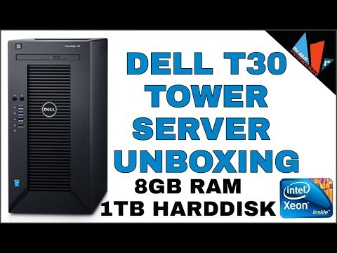 DELL Poweredge T30 Server Unboxing & Preview 2018 - No 1 Machine ?🔥🔥