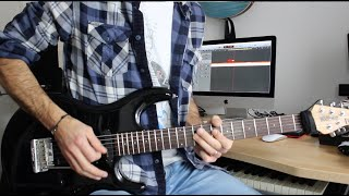 """""""Chinatown"""" (Toto) - Steve Lukather Guitar Solo Cover"""