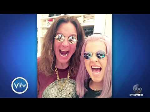 Kelly Osbourne On Struggle With Addiction, Lyme Disease, Family & More  The View