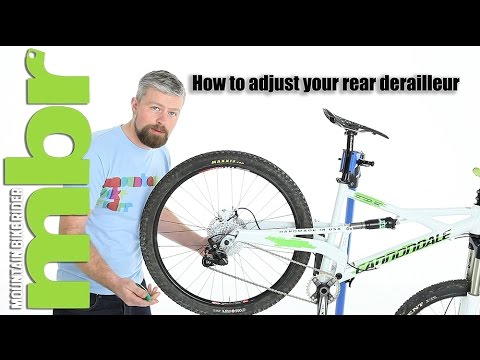 aa979e6e766 How to: Set up and adjust your rear derailleur - YouTube