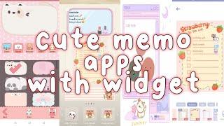 cute memo apps   with widget📝 screenshot 2