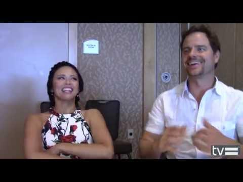 Melissa O'Neil & Anthony Lemke Interview - Dark Matter Season 2