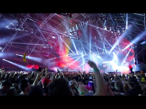 Dillon Francis insane HD drop- Not Butter @ Coachella 2017
