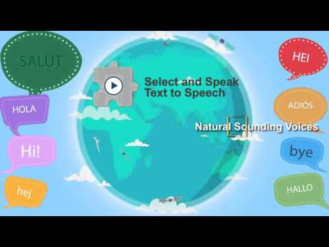 Select and Speak - Text to Speech