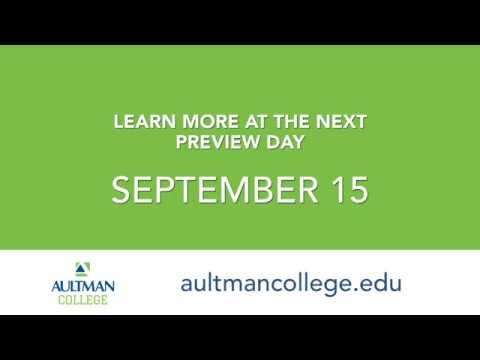 Visit Aultman College Sept. 15