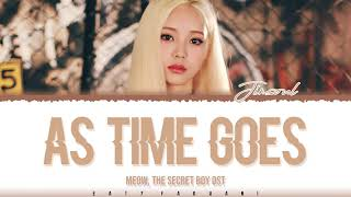 LOONA Jinsoul – 'As Time Goes' (Meow, the Secret Boy OST Part 8) Lyrics [Color Coded_Han_Rom_Eng]