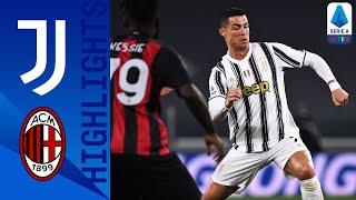 Juventus 0-3 Milan | Il Milan trionfa con i gol di Diaz, Rebic e Tomori | Serie A TIM