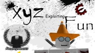 Lets Build a house! (Episode 1 Xyz Roblox Exploiting)