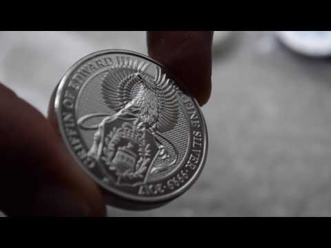 Unboxing Queen's Beasts & Britannia Royal Mint Silver