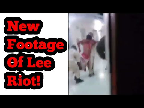 New Footage of Lee Correctional Institution Riot!