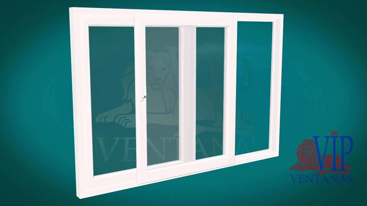 Ventana corredera oscilo paralela ventanasvip ventanas y for Ventana corredera pvc