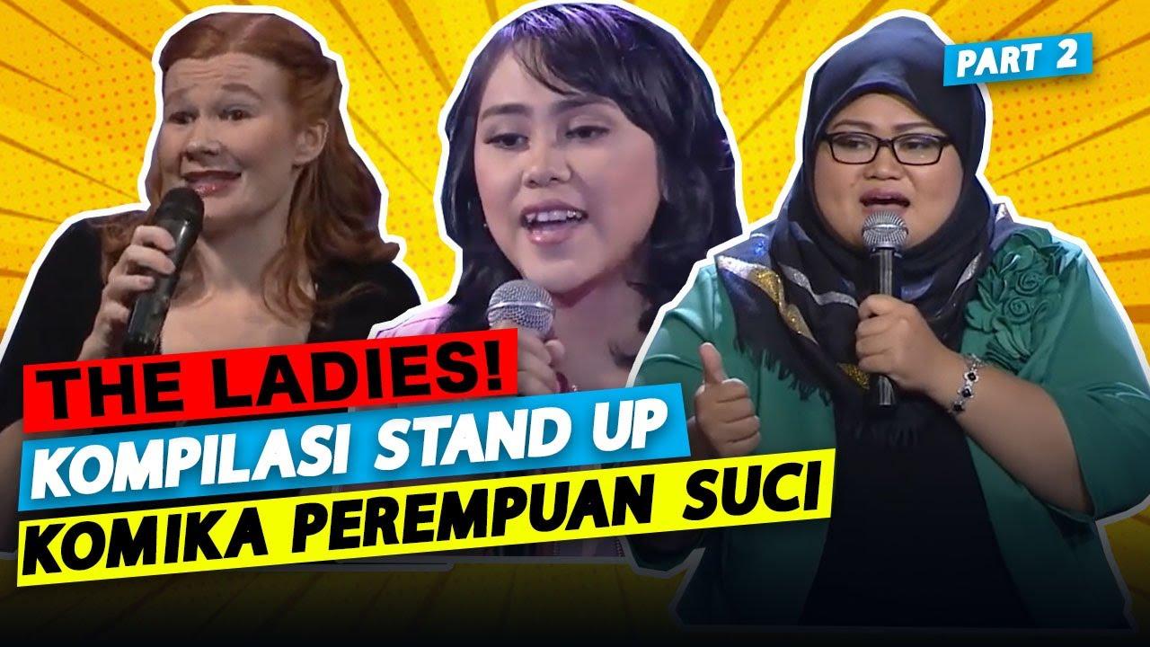 Kompilasi Stand Up Komika Perempuan Part. 2!