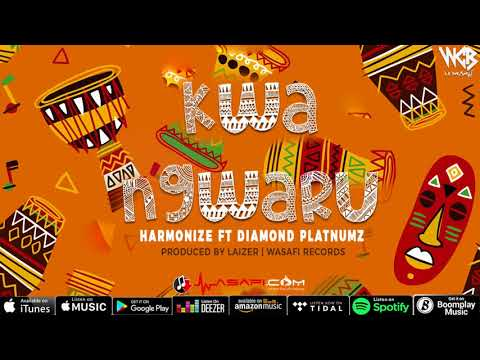 Harmonize ft Diamond Platnumz - Kwa Ngwaru (Official Audio) thumbnail