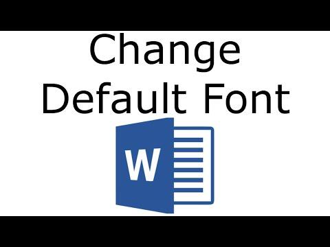 word-2016---change-default-font