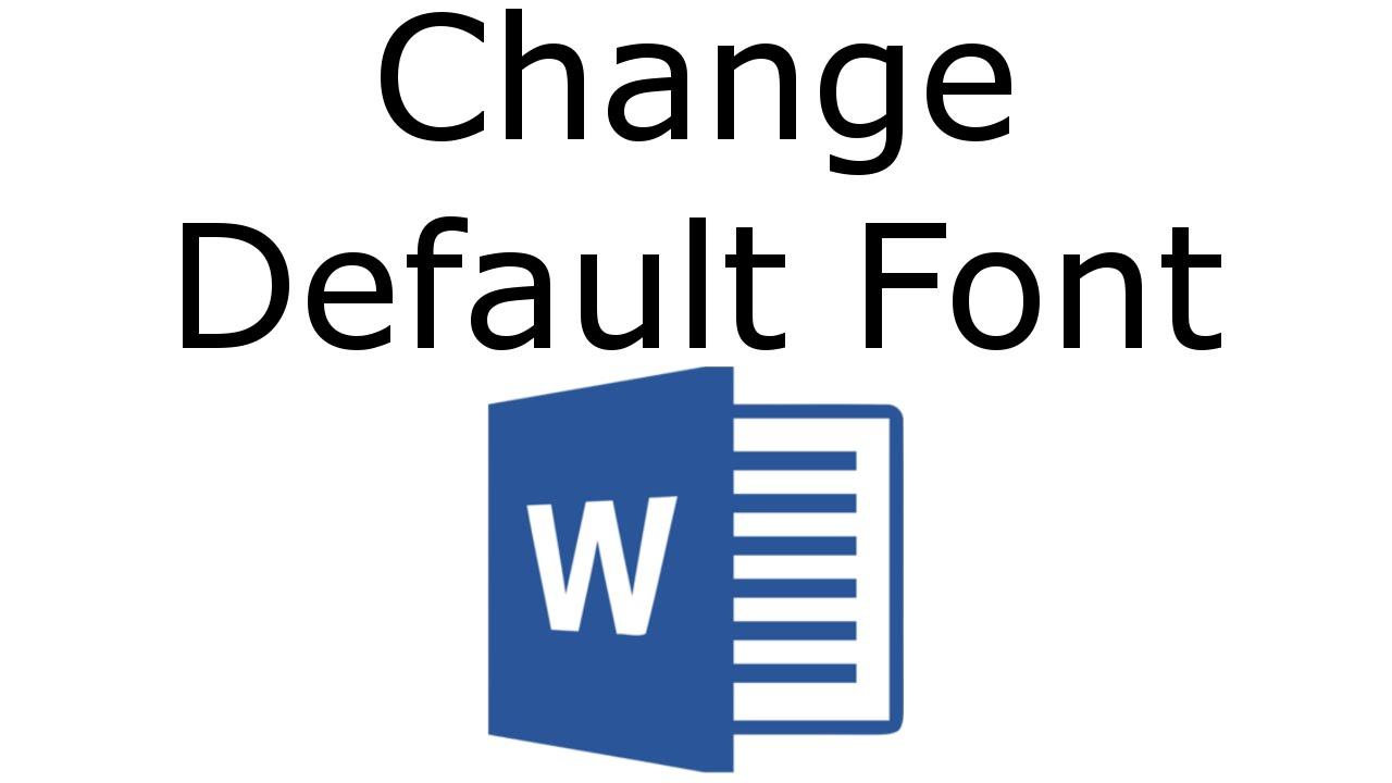 Word 2016 - Change Default Font