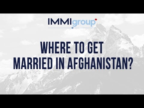 Where to get married in Afghanistan?