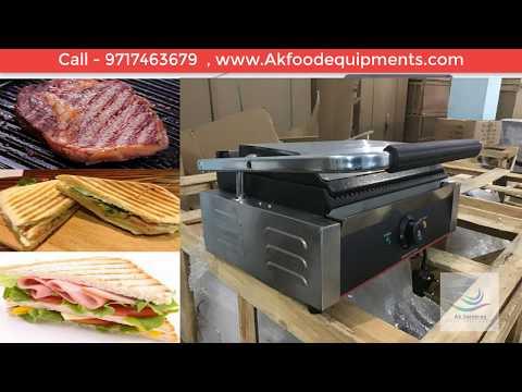 Commercial Sandwich Griller Price in Delhi   India & Get Commercial Sandwich Maker Price