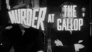 Murder At The Gallop (1963) - [Alternative] Trailer