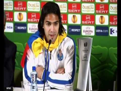Andre Villas Boas and Radamel Falcao interview