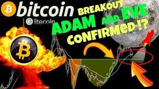 🔥BITCOIN ADAM and EVE BREAK CONFIRMED !?🔥litecoin price prediction, analysis, news, trading