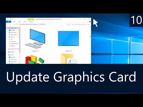 Windows 10 - How To Update Your Graphics Card