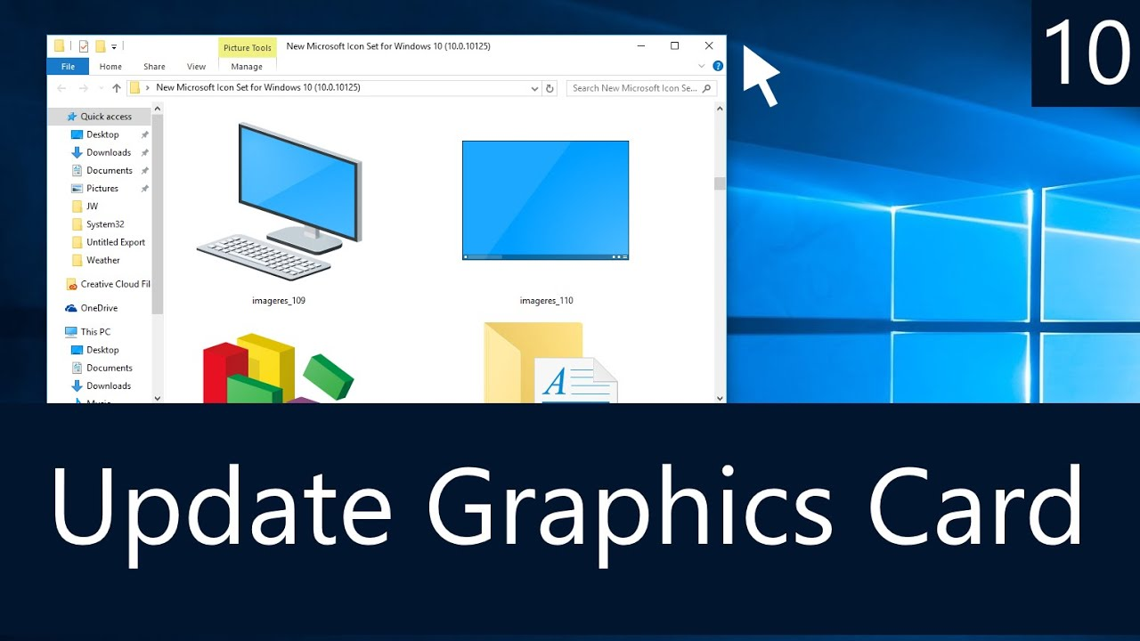 Windows 10 - How to Update Your Graphics Card - YouTube
