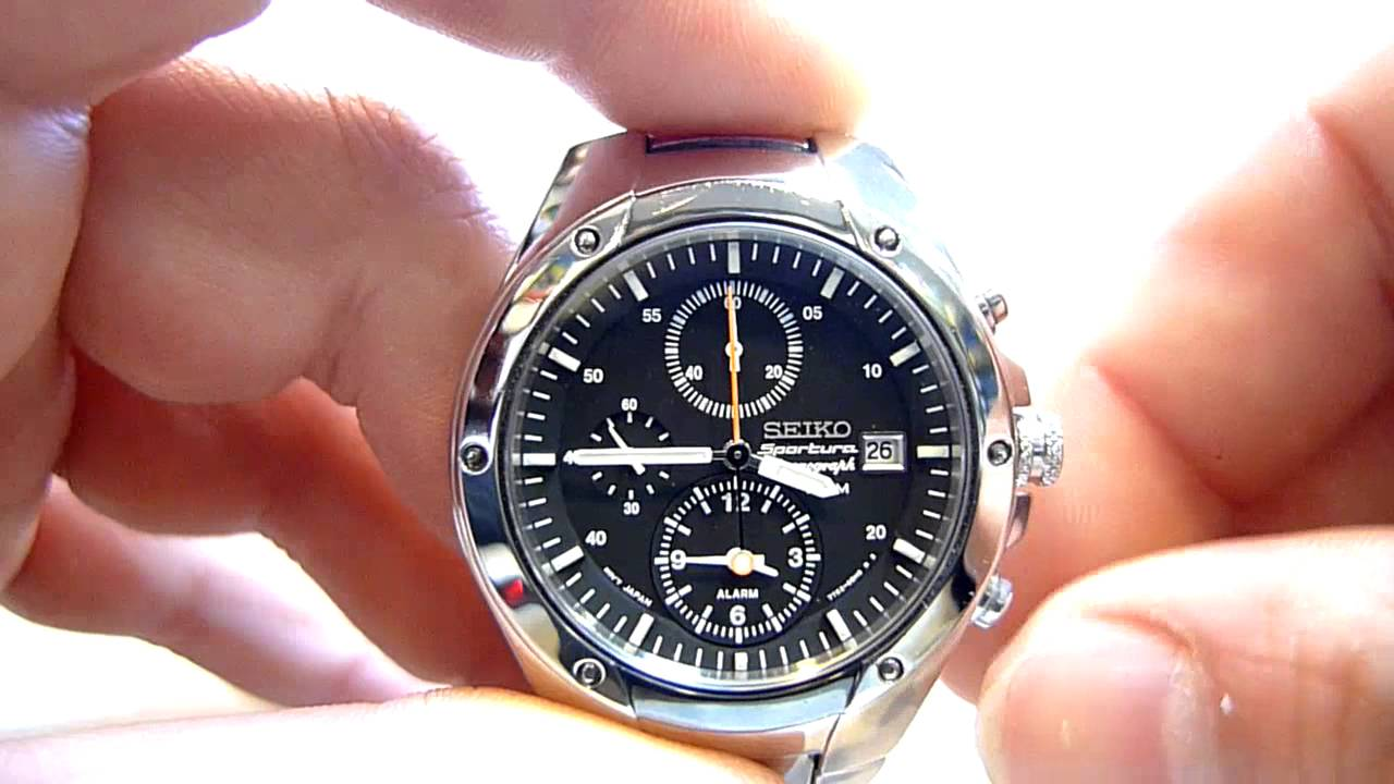 seiko sportura alarm chronograph sna205p caliber 7t62 youtube rh youtube com seiko instructions 7t62 seiko instructions 7t62