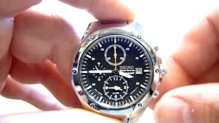 Seiko Sportura Alarm Chronograph SNA205P Caliber 7T62