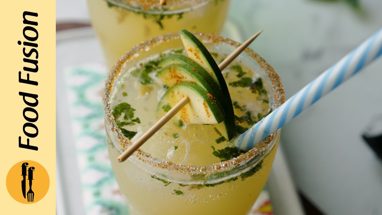 Raw Mango/Kari Cooler Recipe By Food Fusion