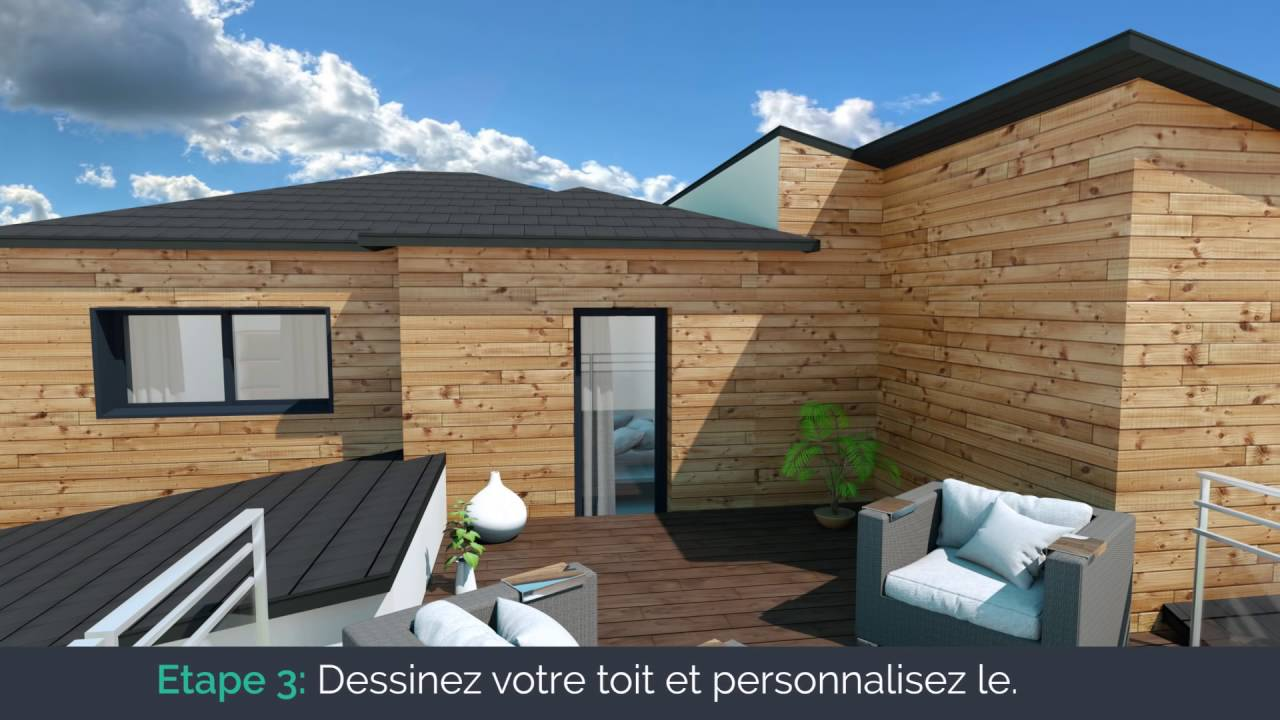my sketcher teaser logiciel de plans 3d pour la maison et l 39 immobilier1 youtube. Black Bedroom Furniture Sets. Home Design Ideas