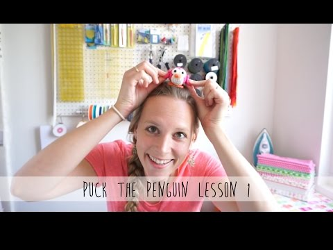 Puck the penguin - Crochet Along - Lesson 1