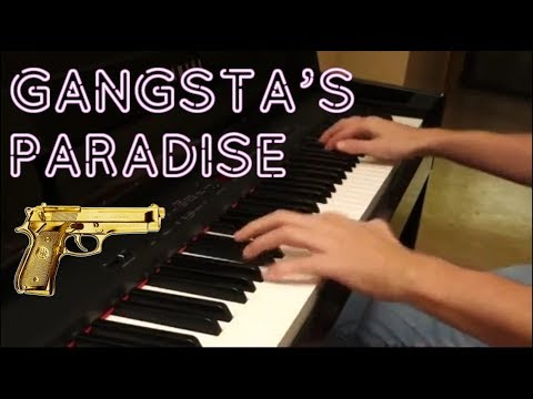Gangsta's Paradise piano cover - Coolio/Stevie Wonder (sheet+midi)