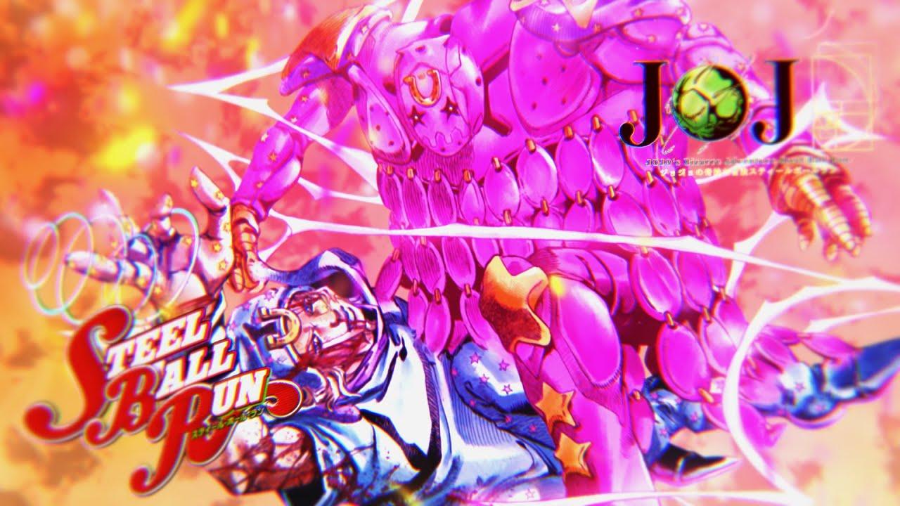 Steel Ball Run: Tusk Act 4 | JoJo Manga Animation 「ジョジョの奇妙な冒険」【4K】