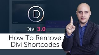 How To Remove Divi Shortcodes When Changing WordPress Themes