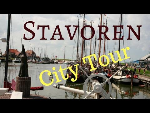 Stavoren (Starum), Friesland (Fryslân), The Netherlands (in the mist) Walking and Cycling .. GoPro