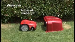 видео Caiman AMBROGIO L200 CARBON – самый мощный робот-газонокосилка