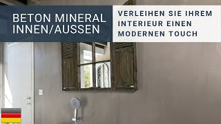 Béton Minéral Innen/Aussen (von Résinence)