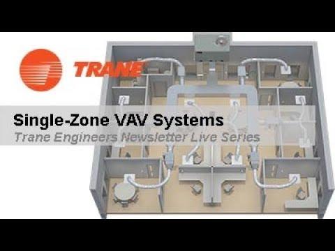 Trane Engineers Newsletter Live: Single-Zone VAV Systems