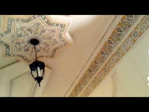 decoration faux plafond avec gorge lumineuse led spote youtube. Black Bedroom Furniture Sets. Home Design Ideas
