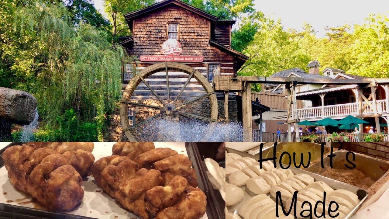 Dollywood S Grist Mill 2019 Cinnamon Bread Youtube