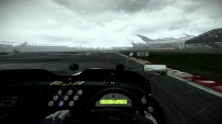 project cars caterham superlight r500 on silverstone in changing weather