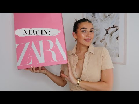 NEW IN ZARA TRY ON HAUL | SUMMER COLOURS!